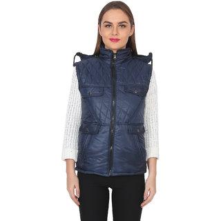 NumBrave Womens Blue Jacket