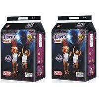 Libero Diaper Pants Small Size 48 pices, Pack of 2