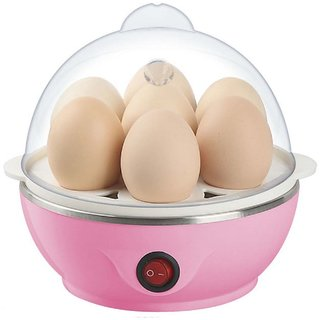 Electric Egg Boiler Stylish  Compact 7 Eggs to boil egg very fast  easily