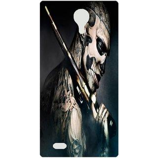 Amagav Back Case Cover for Panasonic P75