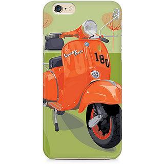CopyCatz Orange Vespa Premium Printed Case For Apple iPhone 6/6s