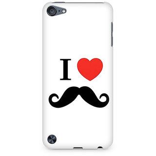 CopyCatz I Love Beards Premium Printed Case For Apple iPod Touch 5