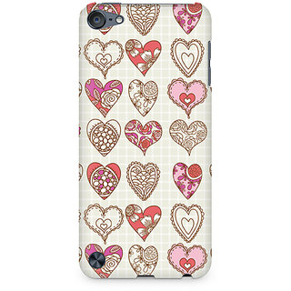 CopyCatz So Many Hearts Premium Printed Case For Apple iPod Touch 5