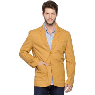 Spykar Beige Long Sleeve Jacket For Men