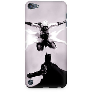 CopyCatz Creed vs Batman Premium Printed Case For Apple iPod Touch 6