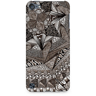CopyCatz Geometric Abstract Doodle Premium Printed Case For Apple iPod Touch 6