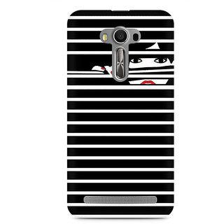 CopyCatz Peekaboo Premium Printed Case For Asus Zenfone 2 Laser ZE550KL