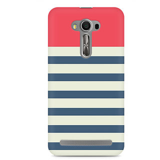 CopyCatz Stripes Pink Premium Printed Case For Asus Zenfone 2 Laser ZE550KL