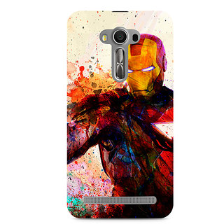 CopyCatz Iron Man Premium Printed Case For Asus Zenfone 2 Laser ZE550KL