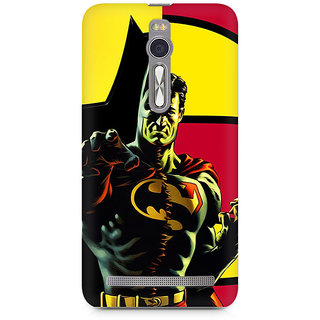 CopyCatz Batman within Superman Premium Printed Case For Asus Zenfone 2