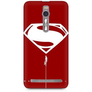 CopyCatz Man of Steel Premium Printed Case For Asus Zenfone 2