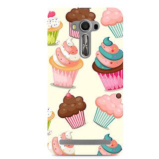 CopyCatz Cute Cupcakes Premium Printed Case For Asus Zenfone 2 Laser ZE550KL