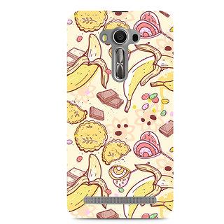 CopyCatz Sweet Banana Premium Printed Case For Asus Zenfone 2 Laser ZE550KL