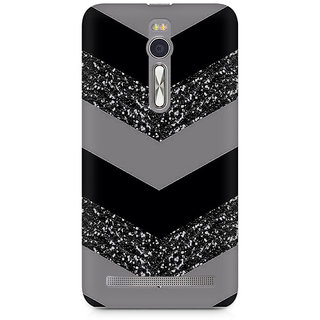 CopyCatz Down Sparkle Premium Printed Case For Asus Zenfone 2