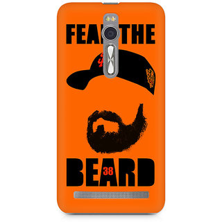 CopyCatz Fear the Beard Bud Premium Printed Case For Asus Zenfone 2
