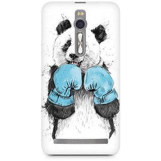 CopyCatz Panda Boxer Premium Printed Case For Asus Zenfone 2