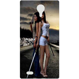 Amagav Back Case Cover for Karbonn K9 Smart