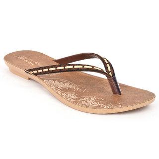 Action Shoes Florina Women's Brown Flats