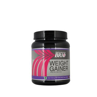 Brio Weight Gainer 500Gm Kesar Pista Badam