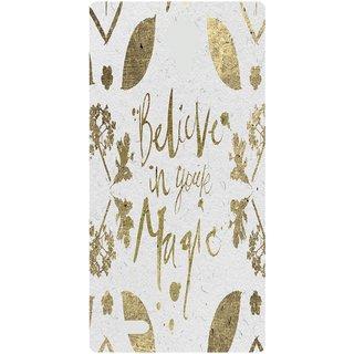 Amagav Back Case Cover for Lyf Wind 7