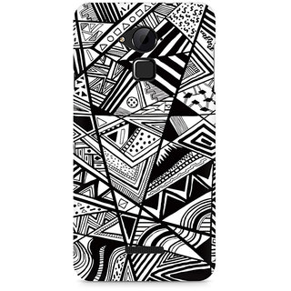CopyCatz Black and White Abstrct Premium Printed Case For Coolpad Note 3