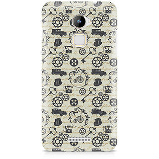 CopyCatz Vintage Machinery Premium Printed Case For Coolpad Note 3 Lite