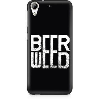 CopyCatz BeerWeed Premium Printed Case For HTC 626