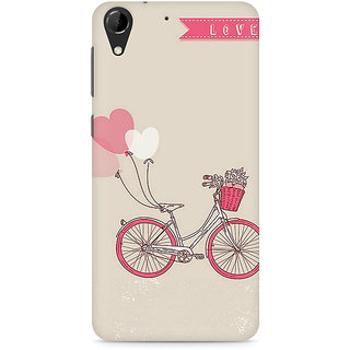 CopyCatz Bicycle Love Premium Printed Case For HTC Desire 728