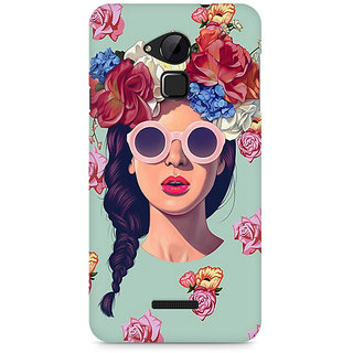 CopyCatz Floral Girl Premium Printed Case For Coolpad Note 3