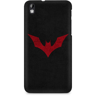 CopyCatz Batman Red Logo Premium Printed Case For HTC Desire 816
