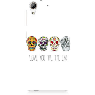 CopyCatz Love till the end Premium Printed Case For HTC 626