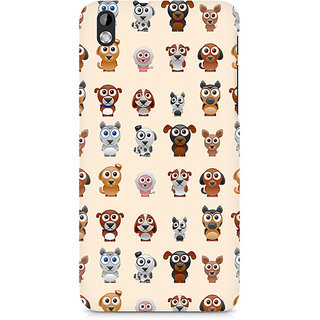 CopyCatz Big Eyes Dog Premium Printed Case For HTC Desire 816