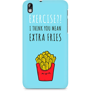 CopyCatz Extra fries Premium Printed Case For HTC Desire 816