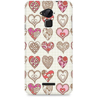CopyCatz So Many Hearts Premium Printed Case For Coolpad Note 3