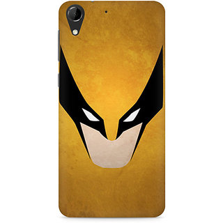 CopyCatz Wolverine Minimalist Premium Printed Case For HTC Desire 728