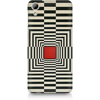 CopyCatz Box Illusion Premium Printed Case For HTC Desire 820