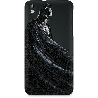 CopyCatz Lettered Dark Knight Premium Printed Case For HTC Desire 816
