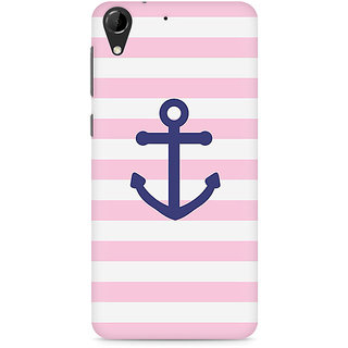 CopyCatz Pink Anchor Premium Printed Case For HTC Desire 728