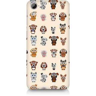 CopyCatz Big Eyes Dog Premium Printed Case For HTC Desire 820