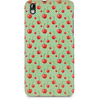 CopyCatz Cherry Overdose Green Premium Printed Case For HTC Desire 816