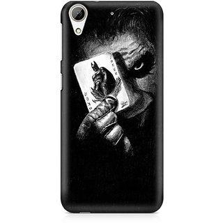 CopyCatz Joker with Batman Card Premium Printed Case For HTC 626