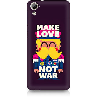 CopyCatz Make Love Not War Premium Printed Case For HTC Desire 820