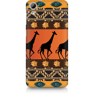 CopyCatz Tribal Giraffe Premium Printed Case For HTC Desire 820