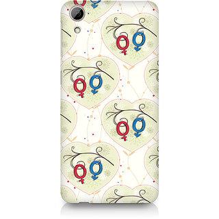 CopyCatz Male and Female Premium Printed Case For HTC Desire 820