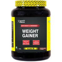 Healthvit Weight Gainer, Chocolate Flavour 500g / 1.1 Lbs