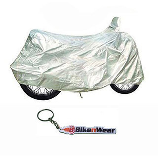 Bajaj Cub Silver With Key Chain