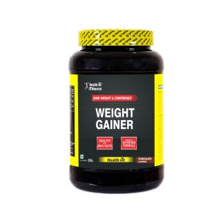Healthvit Weight Gainer, Chocolate Flavour 1kg / 2.2lbs