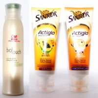 Wella Bio Touch 250 Ml Shampoo With 2 Pcs Santoor Face Wash Free (Set Of 3 Pcs)
