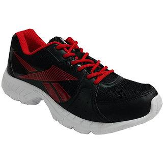 Reebok Men's Black Lace-up Running Shoes