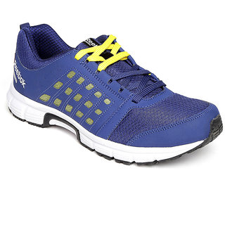Reebok Men's Blue Lace-up Running Shoes